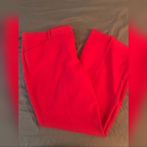 NWOT Worthington Trousers RED